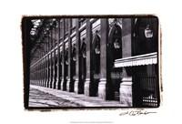 Parisian Archways IV Framed Print
