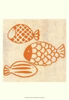 "Best Friends- Fish by Chariklia Zarris - 13"" x 19"", FulcrumGallery.com brand"