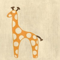 Best Friends- Giraffe Fine Art Print