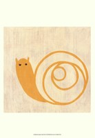 Best Friends- Snail Fine Art Print