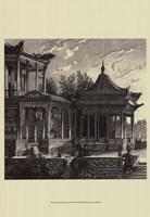 "13"" x 19"" Asian Architecture"