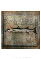 "Ocean Fish I by Beth Anne Creative - 13"" x 19"""