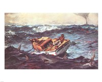 Winslow Homer Storm Framed Print