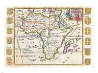 1710 De La Feuille Map of Africa Fine Art Print
