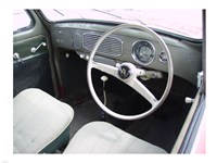 Armaturenbrett VW Kaefer 1956 Rechtssteuerung Fine Art Print