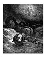 Destruction of Leviathan Framed Print