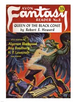 Avon Fantasy Reader 1948 Cover - various sizes