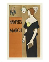 Brooklyn Museum Poster for Harper's Magazine Edward Penfield - various sizes