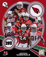 Arizona Cardinals 2011 Team Composite Fine Art Print