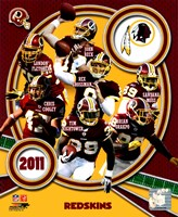 Washington Redskins 2011 Team Composite Fine Art Print