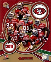 San Francisco 49ers 2011 Team Composite Fine Art Print