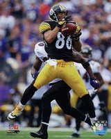 "Hines Ward Football Reception Action - 8"" x 10"""