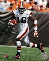 Josh Cribbs 2011 Action Fine Art Print
