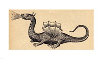 Medieval Dragon II Fine Art Print