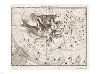 Constellation  Saint Michael Framed Print