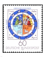Jahre Gregorianischer Kalender - various sizes, FulcrumGallery.com brand