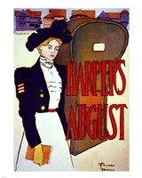 Edward Penfield, Harper's August, 1897, 1897 - various sizes, FulcrumGallery.com brand