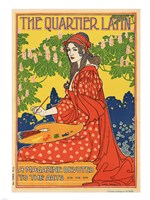 The Quartier Latin, a Magazine Devoted to the Arts, Advertising Poster, ca.1895, 1895 - various sizes
