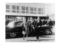 Mrs. Kennedy, President Kennedy National Airport - various sizes