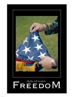Freedom Affirmation Poster, USAF Fine Art Print