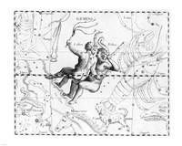 Gemini Hevelius Fine Art Print