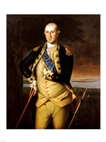 George Washington by Peale 1776 Fine Art Print