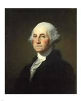 Gilbert Stuart Williamstown Portrait of George Washington Framed Print