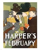 Harper's February 1895 - various sizes
