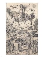 Hausbuch Wolfegg Luna Fine Art Print