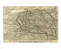 Hindenburg Line Map SGW Vol. VIII - various sizes