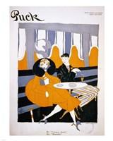 I Propose Dinner Puck Magazine Cover 1916 Dec 9 - various sizes, FulcrumGallery.com brand