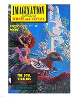 Imagination Cover October 1950 - various sizes, FulcrumGallery.com brand