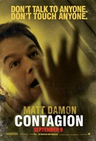 Contagion - Matt Damon Wall Poster