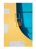 High angle view of a swimming pool ladder, Banderas Bay, Puerto Vallarta, Jalisco, Mexico - various sizes