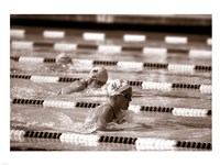 Swimming Event at the 1984 Summer Olympics Fine Art Print