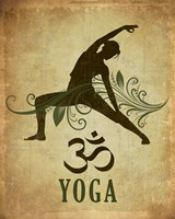 Yoga pose Fine Art Print