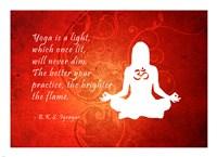 Yoga Quote - various sizes