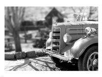 Fire Engine -  Jerome, Arizona Fine Art Print