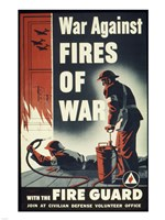 War Against Fires of War with the Fire Guard - various sizes