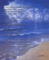 Prayer from the Heart (with poem) Fine Art Print