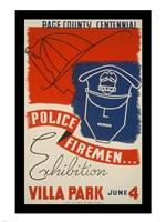 Police Firemen Exhibition Villa Park June 4th - various sizes