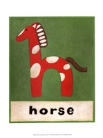 H is for Horse Fine Art Print