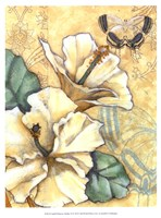 "Small Hibiscus Medley II by Jennifer Goldberger - 10"" x 13"""