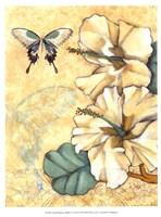 "Small Hibiscus Medley I by Jennifer Goldberger - 10"" x 13"""