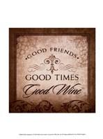 Wine Inspiration I Framed Print