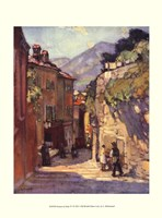 "Scenes in Italy IV by Leonard Richmond - 10"" x 13"""