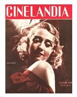 Joan Blondell CINELANDIA Magazine Fine Art Print