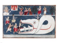 Krishna Kills Aghasura - various sizes