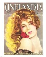 Lili Damita CINELANDIA Magazine Fine Art Print