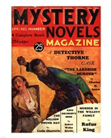 Mystery Novels Magazine Spring 1933 - various sizes